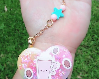 Cuppa Cuppa Kawaii cute keychain or purse charm