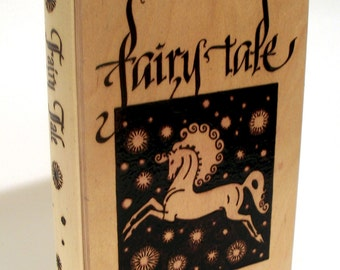 Fairy Tale Book Style Wooden Box
