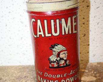 Calumet Baking Powder Tin