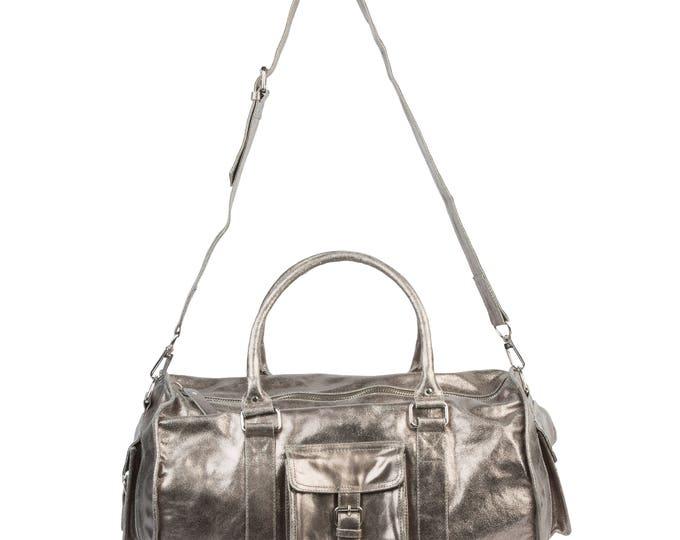 Pyar&Co. Leather Duffle Bag