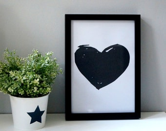 Heart - Print - Instant download
