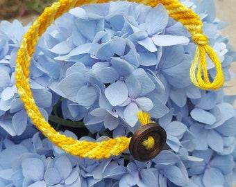 Sunny Yellow Bracelet