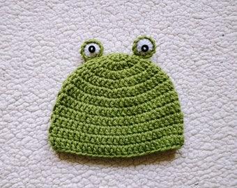 PATTERN Crochet Frog Hat