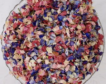 Biodegradable Confetti, Dried Natural Petals, HAPPY