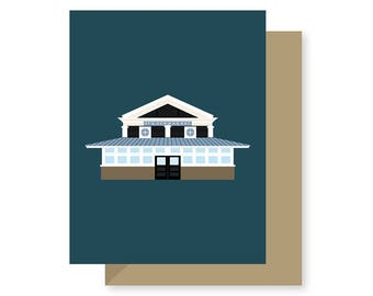 St. Roch Market, Historic Preservation Architecture Louisiana, Local Seafood, Cocktails, New Orleans Greeting Card