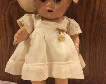 "Antique Dionne Quint ""Emilie"" all original looking for her sisters!"