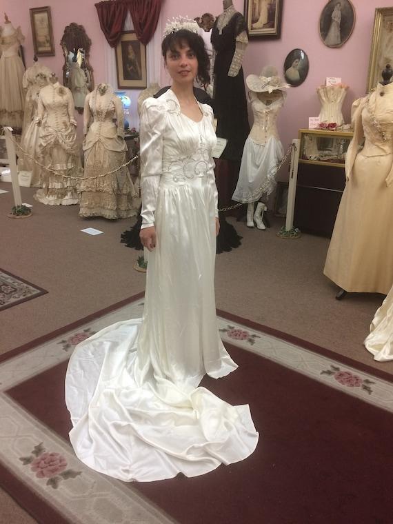 1930 Wedding Gown