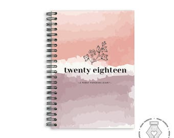 SALE \ 2018 Diary \ A5 \ 2018 Weekly Planner \ Diary \ 2018 Agenda \ 2018 Planner \ Planner \ Mothers Day