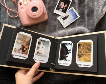 Instax Mini Album. Instax Wedding Guest Book. Instax Photo Album for 60 Photos. For Fujifilm Instax Mini 9, 8, 7s, 25, 50s, 70, 90.