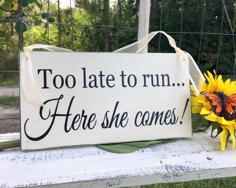 Flower Girl Signs