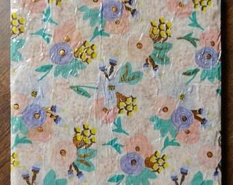 Pastel Floral Trivet