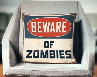 The Walking Dead Gifts   Zombie Pillow   Zombie Gifts   Zombie Throw Pillow   Zombie Pillow Cover   Zombie Pillow Case   Zombie Decor