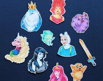 Finn and Jake - Adventure Time Sticker Pack - Mini