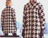 Issey Miyake Womens Coat OOP Vogue Designer Original Sewing Pattern V1320 Size 14 16 18 20 22 Bust 36 38 40 42 44 UnCut