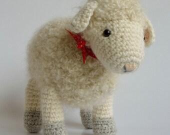 Haakpatroon Cora het schaap, schapen /  lammetje