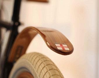 Wood Bike Fender- Woody's Chop Chort Rear Fender