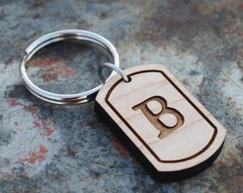 Buchstabe B erste Schlüsselanhänger