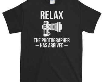 Photographers Photography Camera Lovers Cameraman T shirt