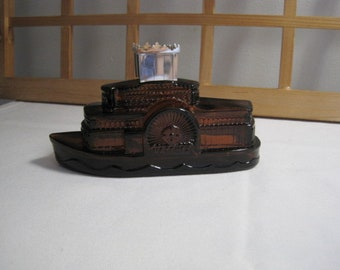 Vintage Avon ship perfume bottle / Vintage Bottle Avon ship flavor