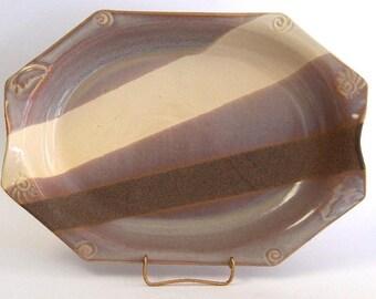 Oval Baker Large - Desert's Edge Glaze
