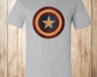 Cap Americana Woodprint T-shirt