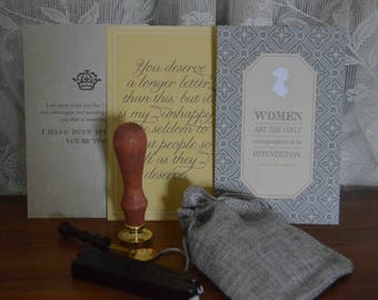 Jane Austen Stationary Set