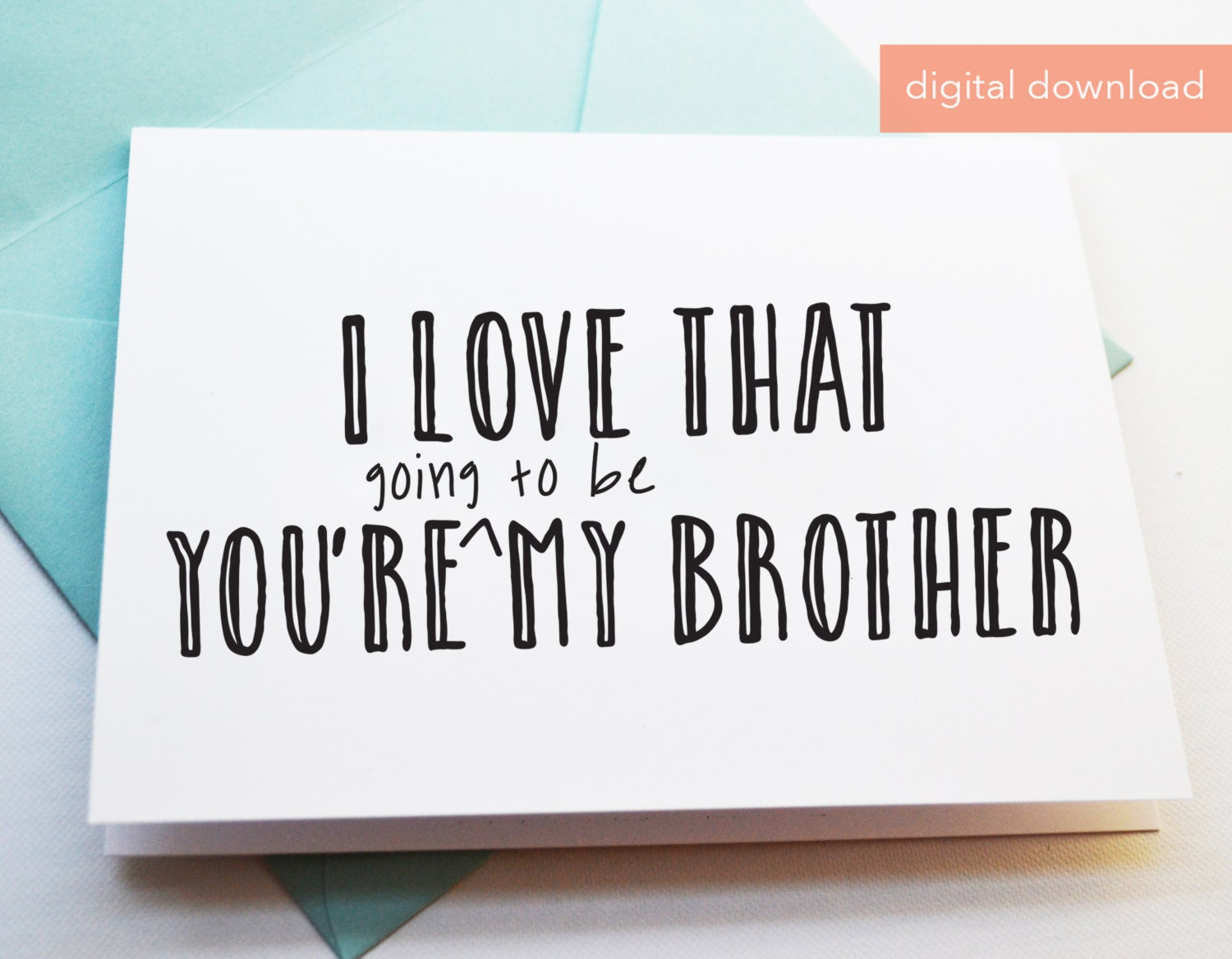 Printable card for future brother in law digital greeting cards printable card for future brother in law digital greeting cards brother to be card card for future brother digital cards m4hsunfo