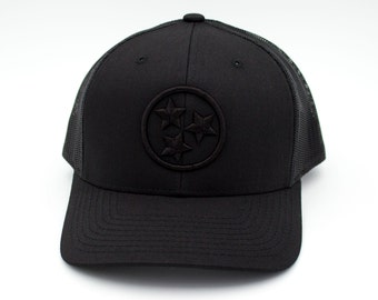 Black/Black/Black Tristar Trucker 3D