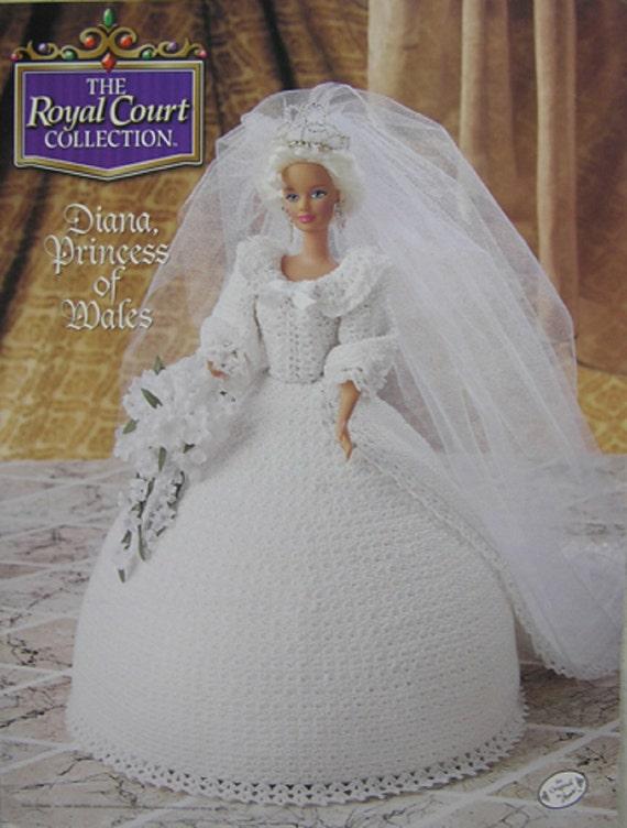 Attic Crochet cama muñeca patrón Diana Princess de Annie de