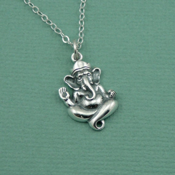 Ganesh ganesha ganesh pendant necklace yoga gifts like this item aloadofball Image collections