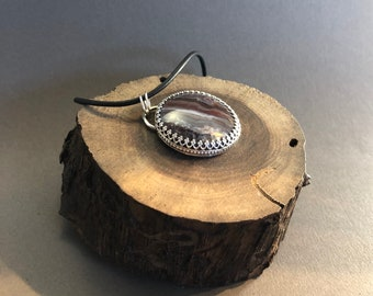 Hand made sterling silver pendant