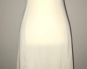 Vintage 80's Bridal Slip / size medium / no tag