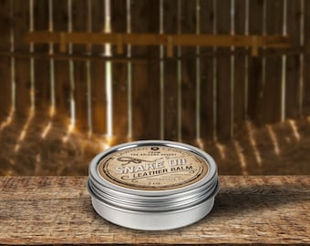 Snake Oil Leather Balm - Best Leather Balm you'll ever use!