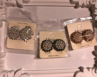 Gorgeous stud earrings and elegant dangle earrings