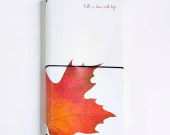 Maple Leave Traveler's Notebook