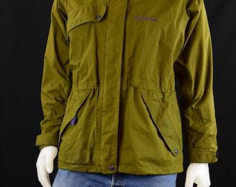 Womens Jacket Womens Clothing Gore-Tex Rainwear Moonstone Coat - Made in USA - Size Ladies L