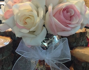 20 Beautiful wedding centerpiece vase mason jar flower vase