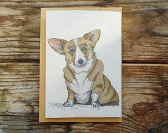 Dog Note Cards: 10 Pack; Corgi