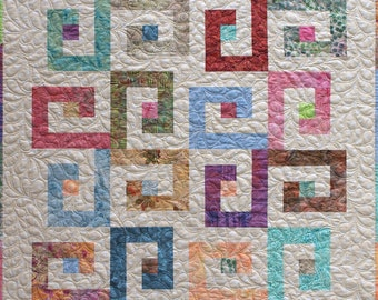 Melted Icecream Baby/Toddler/Lap Quilt