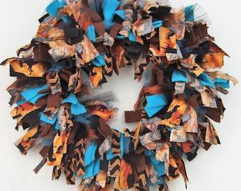 Rodeo Horse Rag Wreath
