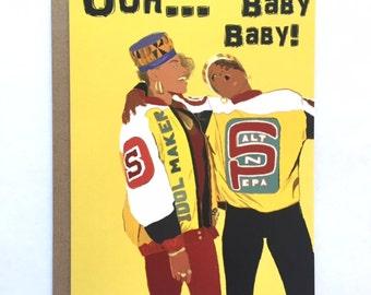 SALT N PEPA - Baby Card