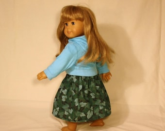 """Simple Ivy Skirt for 18"""" Doll"""