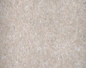 Natural Cork Fabric - Snake White