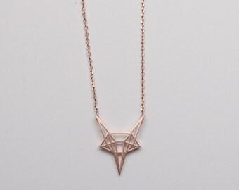 Ella Necklace Rose Gold