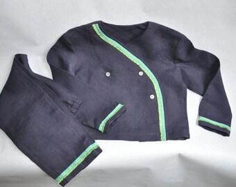 Linen pajama for children