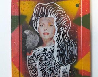 illustration on slate, blackboard