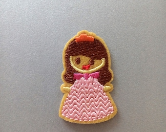 Iron On Patches, Girl  Iron on Patche, Clothes Decoration tool
