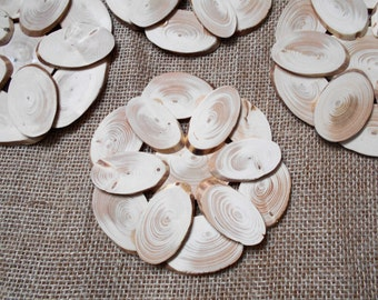 Set 2 pcs Wooden trivet. Wooden stand for hot. Coaster for hot. Hot mat. Rustic Wood Disc. Diameter 5,9 inches