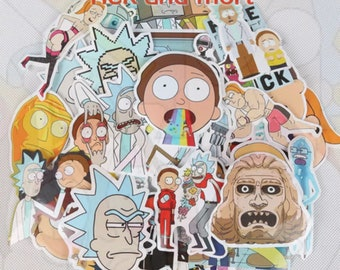 10 Rick and Morty Stickers