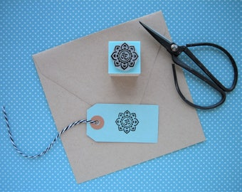 OM MANDALA Rubber stamp. Om Mandala Stamp. Om Mandala.  Om Rubber Stamp. Om Stamp. Om symbol. Yoga rubber stamp. Mantra rubber stamp